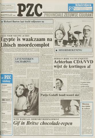 Provinciale Zeeuwse Courant 1984-11-19