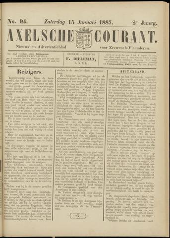 Axelsche Courant 1887-01-15