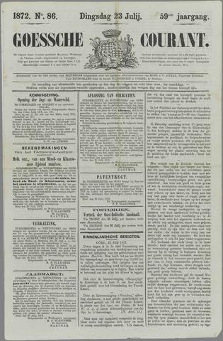 Goessche Courant 1872-07-23