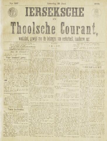 Ierseksche en Thoolsche Courant 1889-06-29