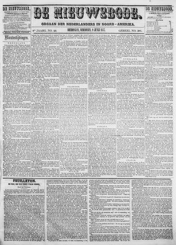 Sheboygan Nieuwsbode 1857-06-09