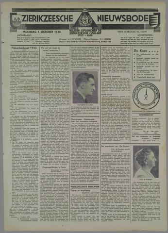 Zierikzeesche Nieuwsbode 1936-10-05