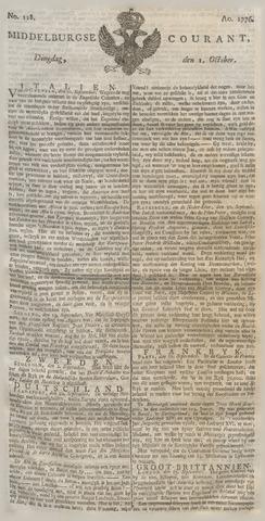 Middelburgsche Courant 1776-10-01