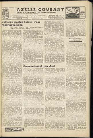 Axelsche Courant 1954-10-09