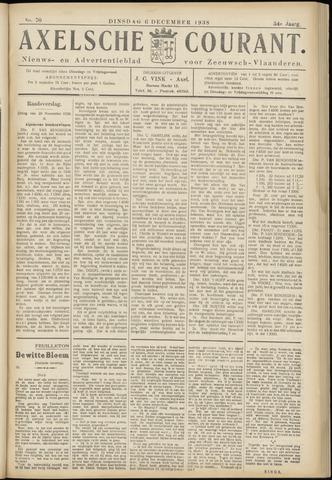 Axelsche Courant 1938-12-06