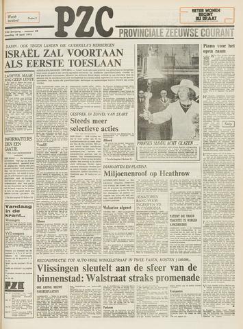 Provinciale Zeeuwse Courant 1973-04-14