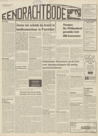 Eendrachtbode (1945-heden)/Mededeelingenblad voor het eiland Tholen (1944/45) 1979-01-04