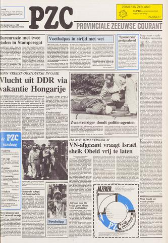 Provinciale Zeeuwse Courant 1989-08-09