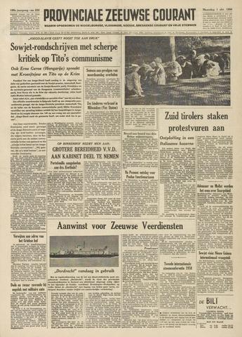 Provinciale Zeeuwse Courant 1956-10-01