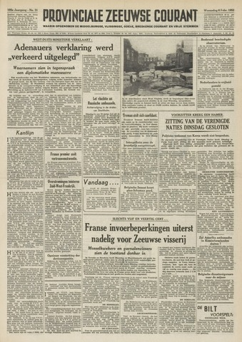 Provinciale Zeeuwse Courant 1952-02-06