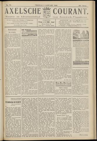 Axelsche Courant 1940-01-05