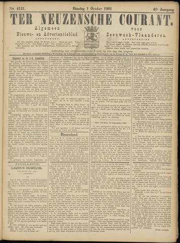 Ter Neuzensche Courant. Algemeen Nieuws- en Advertentieblad voor Zeeuwsch-Vlaanderen / Neuzensche Courant ... (idem) / (Algemeen) nieuws en advertentieblad voor Zeeuwsch-Vlaanderen 1901-10-01