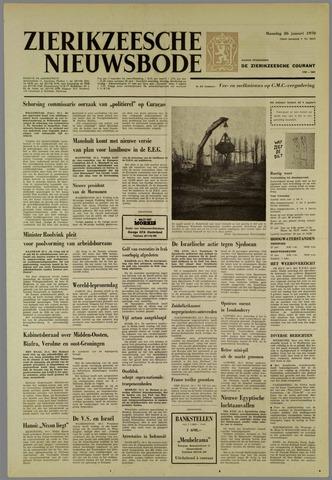 Zierikzeesche Nieuwsbode 1970-01-26