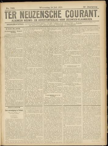 Ter Neuzensche Courant. Algemeen Nieuws- en Advertentieblad voor Zeeuwsch-Vlaanderen / Neuzensche Courant ... (idem) / (Algemeen) nieuws en advertentieblad voor Zeeuwsch-Vlaanderen 1926-07-14