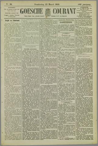 Goessche Courant 1919-03-13