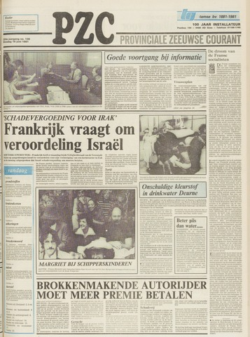 Provinciale Zeeuwse Courant 1981-06-16