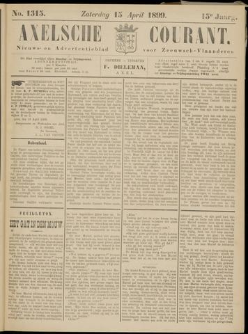 Axelsche Courant 1899-04-15