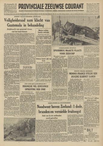 Provinciale Zeeuwse Courant 1954-06-21