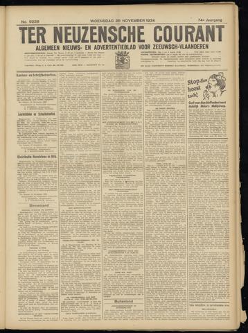 Ter Neuzensche Courant. Algemeen Nieuws- en Advertentieblad voor Zeeuwsch-Vlaanderen / Neuzensche Courant ... (idem) / (Algemeen) nieuws en advertentieblad voor Zeeuwsch-Vlaanderen 1934-11-28