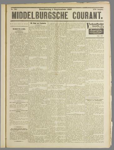 Middelburgsche Courant 1927-09-01