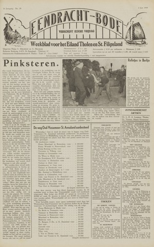 Eendrachtbode (1945-heden)/Mededeelingenblad voor het eiland Tholen (1944/45) 1949-06-03