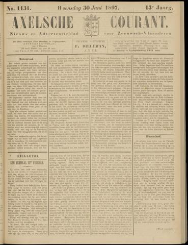 Axelsche Courant 1897-06-30