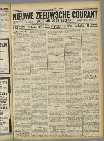 Nieuwe Zeeuwsche Courant 1922-04-25