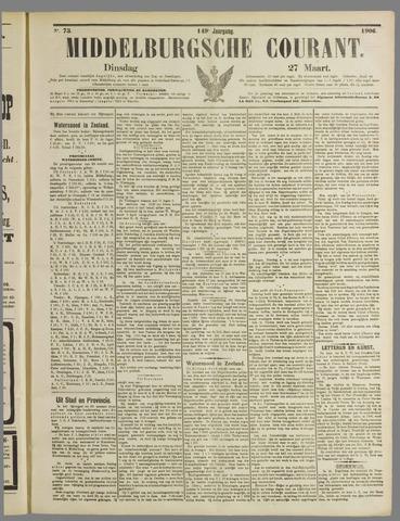 Middelburgsche Courant 1906-03-27