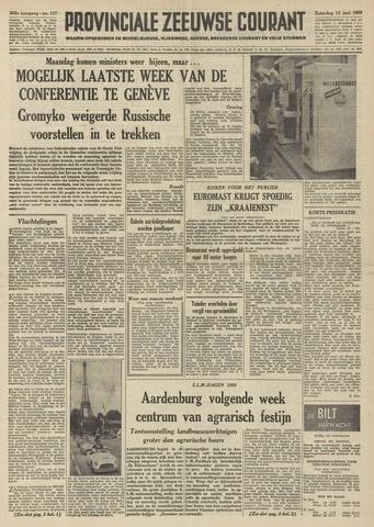 Provinciale Zeeuwse Courant 1959-06-13