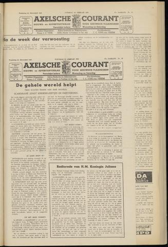 Axelsche Courant 1953-02-11