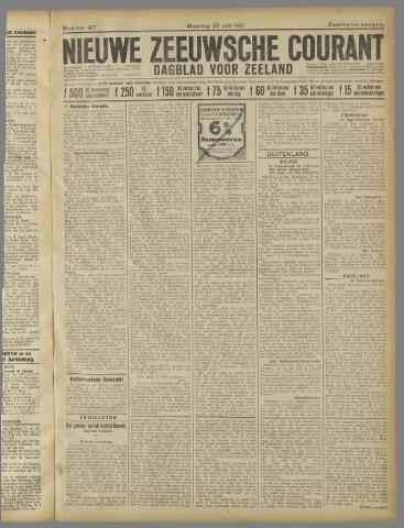 Nieuwe Zeeuwsche Courant 1921-07-25