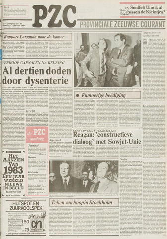 Provinciale Zeeuwse Courant 1984-01-17
