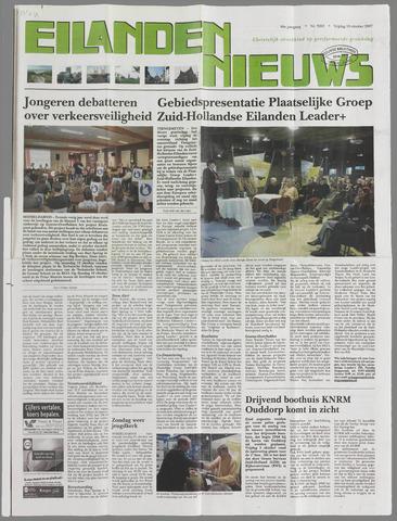 Eilanden-nieuws. Christelijk streekblad op gereformeerde grondslag 2007-10-19