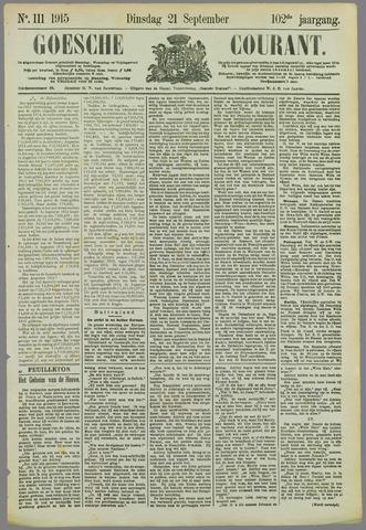 Goessche Courant 1915-09-21