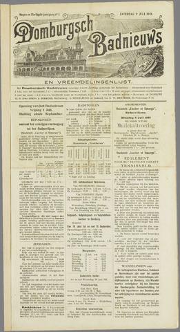 Domburgsch Badnieuws 1921