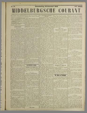 Middelburgsche Courant 1919-01-16
