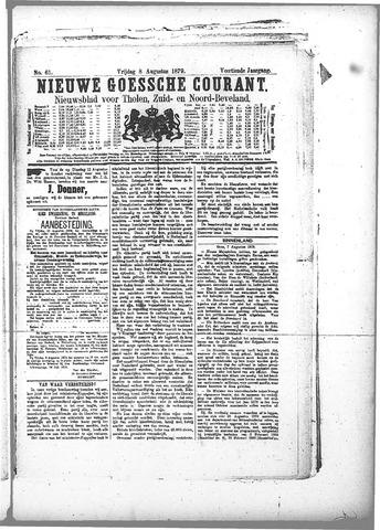 Nieuwe Goessche Courant 1879-08-08
