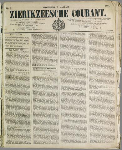 Zierikzeesche Courant 1871