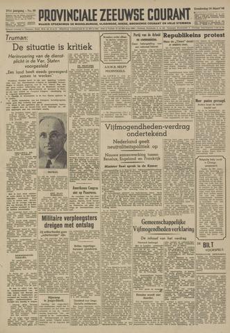 Provinciale Zeeuwse Courant 1948-03-18