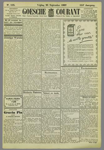 Goessche Courant 1927-09-23