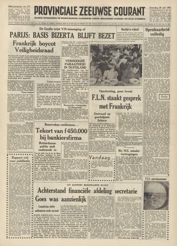 Provinciale Zeeuwse Courant 1961-07-29