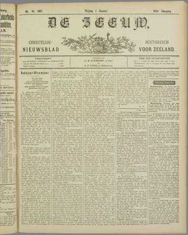 De Zeeuw. Christelijk-historisch nieuwsblad voor Zeeland 1897
