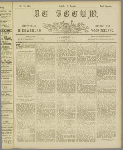 De Zeeuw. Christelijk-historisch nieuwsblad voor Zeeland 1895-12-19
