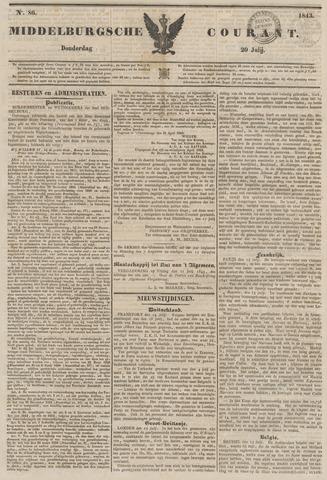 Middelburgsche Courant 1843-07-20