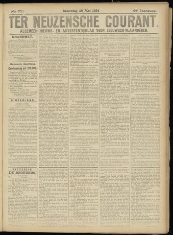 Ter Neuzensche Courant. Algemeen Nieuws- en Advertentieblad voor Zeeuwsch-Vlaanderen / Neuzensche Courant ... (idem) / (Algemeen) nieuws en advertentieblad voor Zeeuwsch-Vlaanderen 1924-05-26