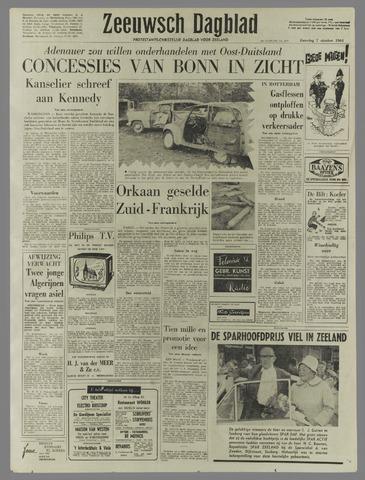Zeeuwsch Dagblad 1961-10-07