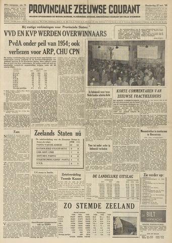 Provinciale Zeeuwse Courant 1958-03-27
