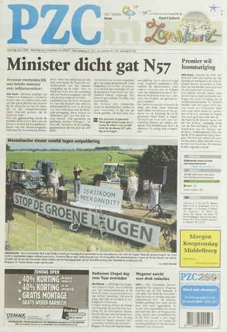 Provinciale Zeeuwse Courant 2008-07-05