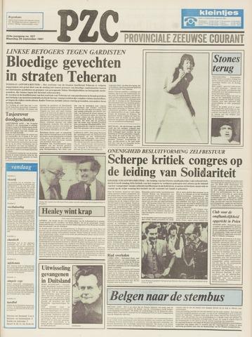 Provinciale Zeeuwse Courant 1981-09-28