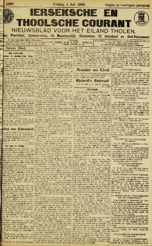 Ierseksche en Thoolsche Courant 1932-07-01